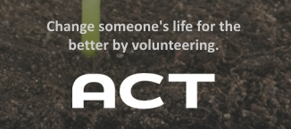 Change someone's life for the better by volunteering.
